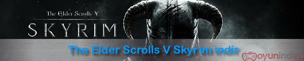 The Elder Scrolls V Skyrim indir